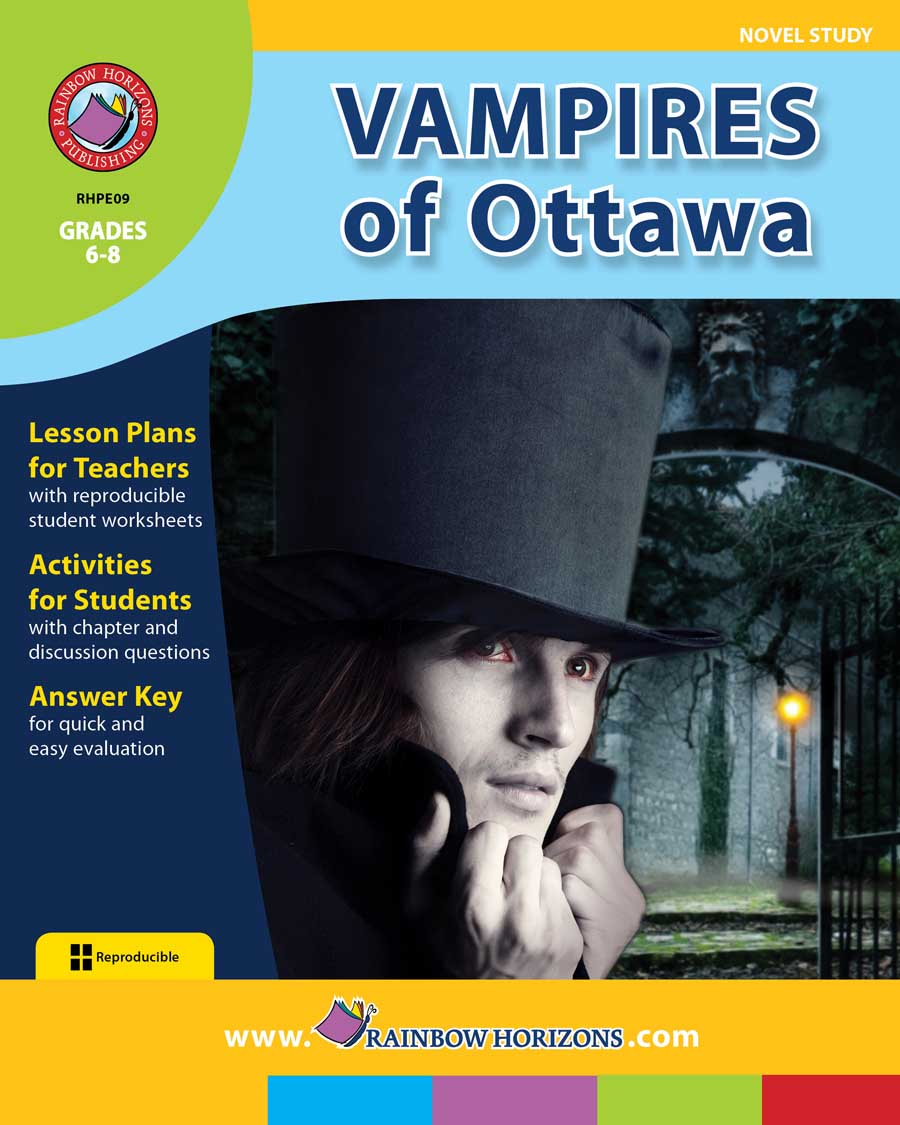 Vampires of Ottawa (Novel Study) Gr. 6-8 - print book