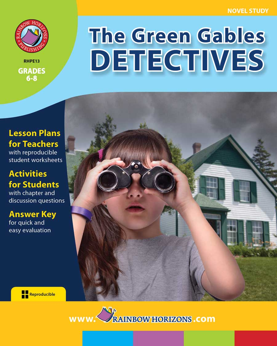 The Green Gables Detectives (Novel Study) Gr. 6-8 - print book