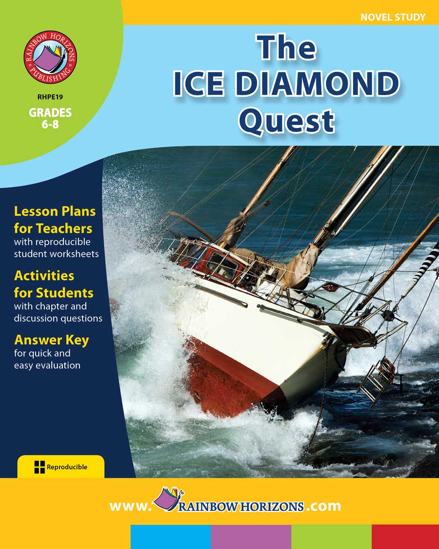 The Ice Diamond Quest (Novel Study) Gr. 6-8 - print book