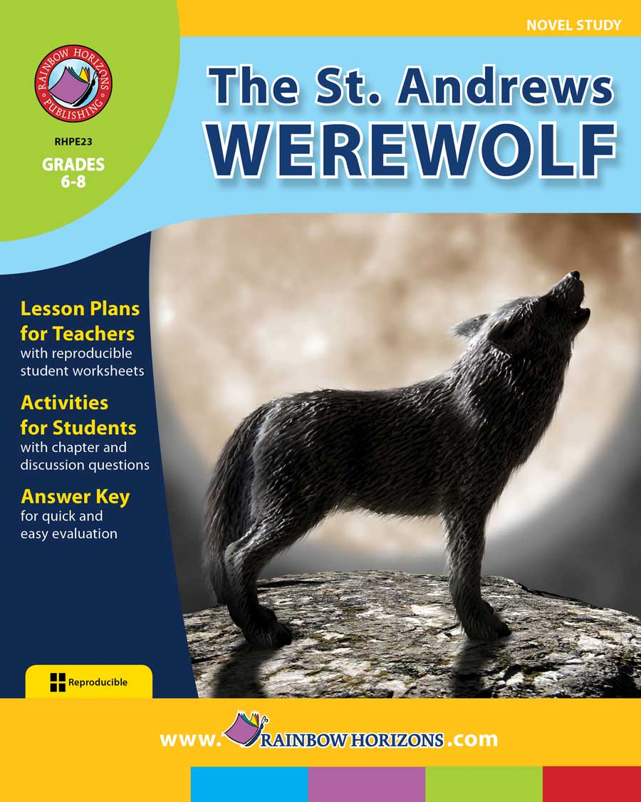 The St. Andrews Werewolf (Novel Study) Gr. 6-8 - print book