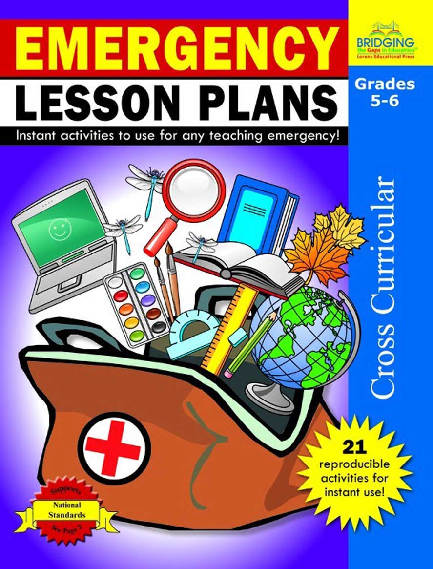Emergency Lesson Plans - Grades 5-6