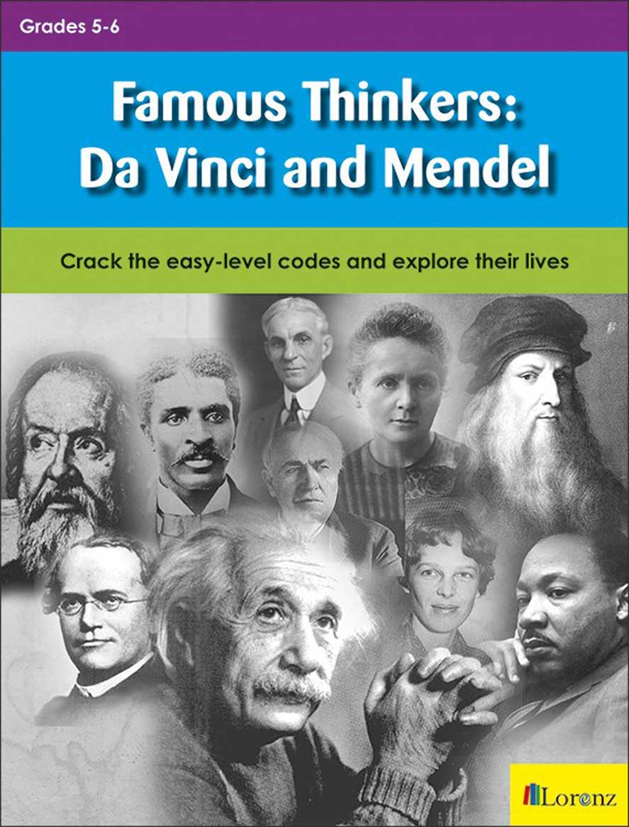 Famous Thinkers: Da Vinci and Mendel
