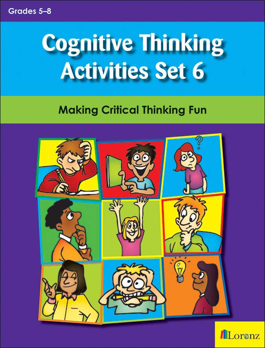 Cognitive Thinking Activities Set 6