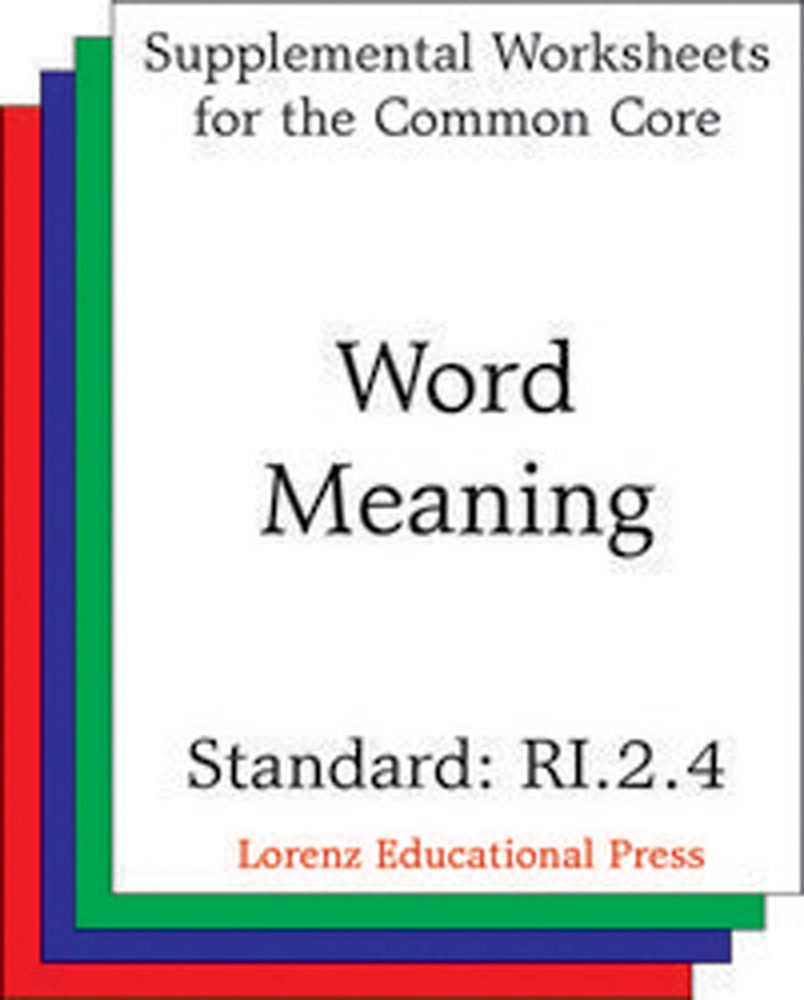 Word Meaning (CCSS RI.2.4)