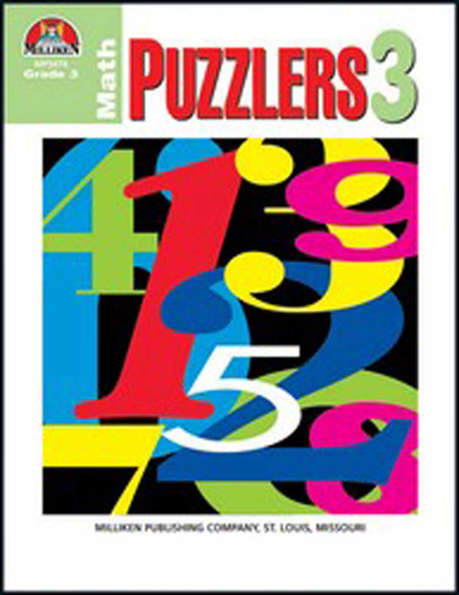 Math Puzzlers - Grade 3