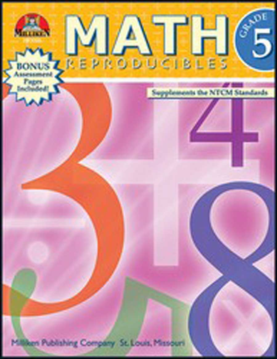 Math Reproducibles - Grade 5