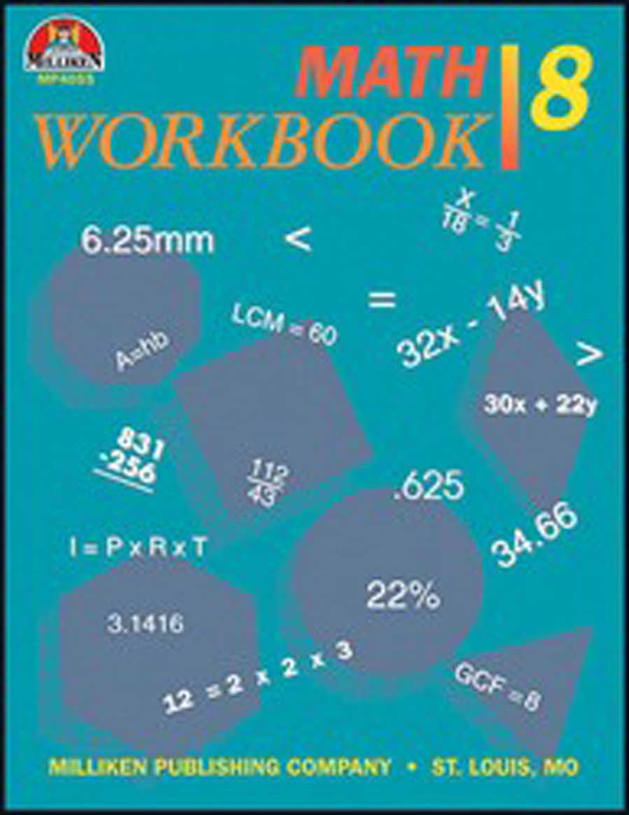 Math Workbook - Grade 8