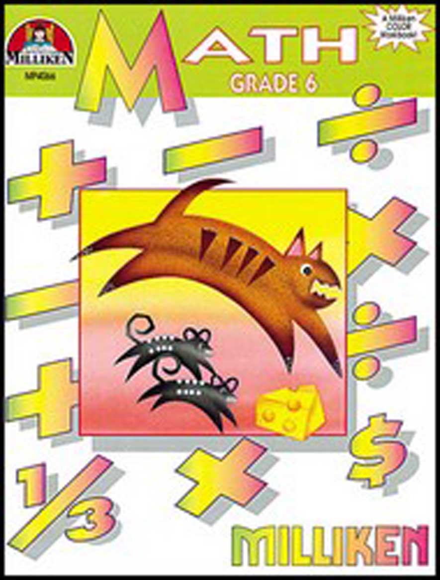Math Workbook - Grade 6