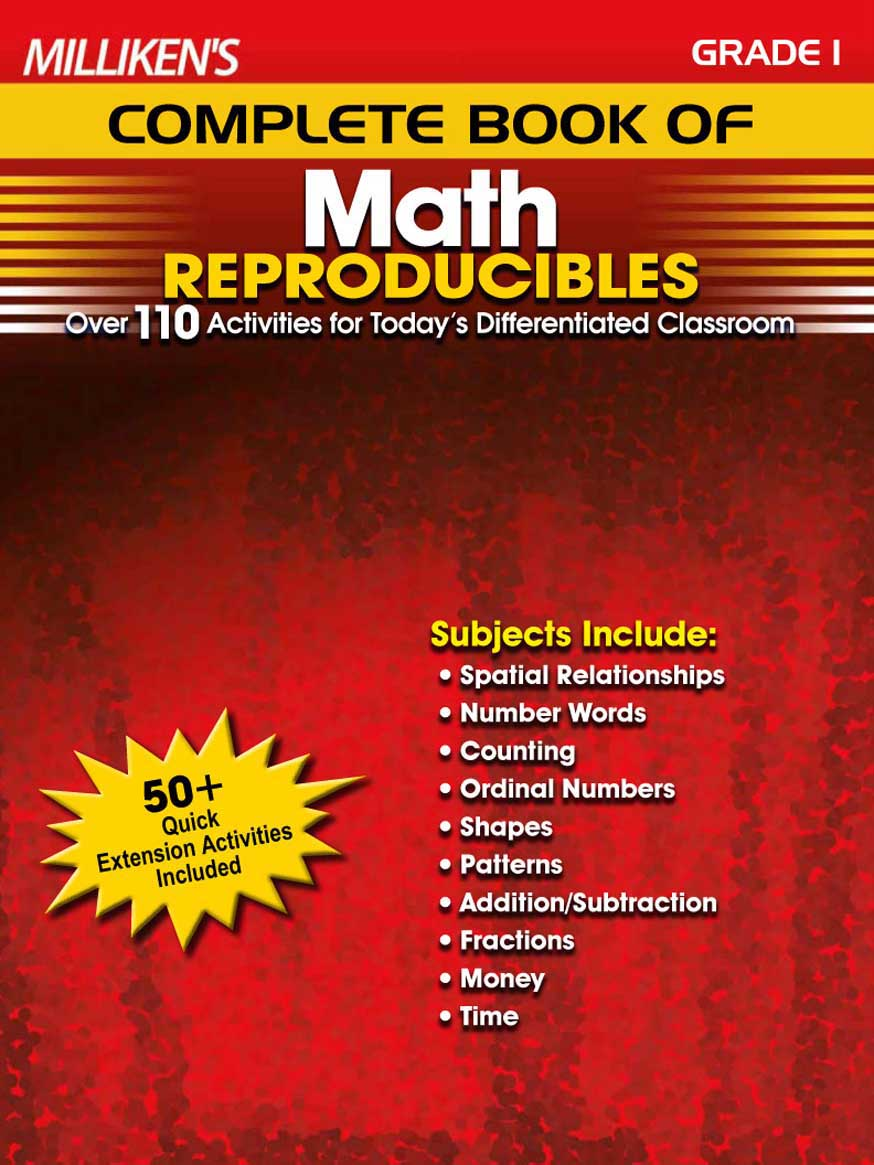 Milliken's Complete Book of Math Reproducibles - Grade 1