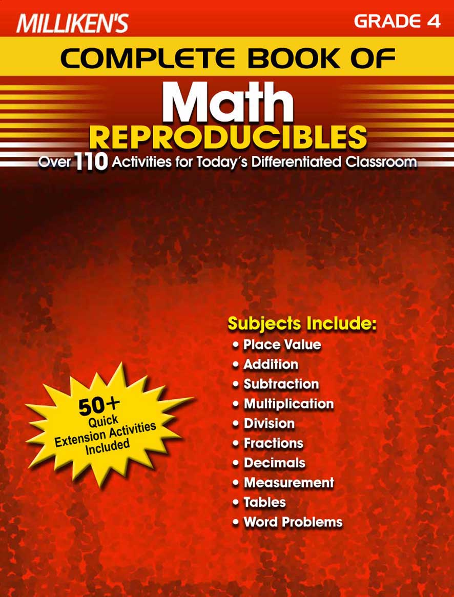 Milliken's Complete Book of Math Reproducibles - Grade 4