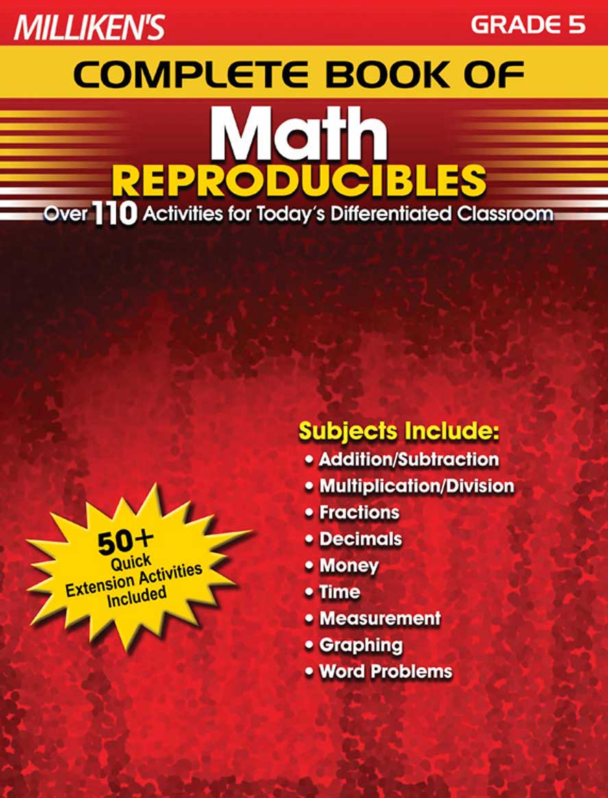 Milliken's Complete Book of Math Reproducibles - Grade 5