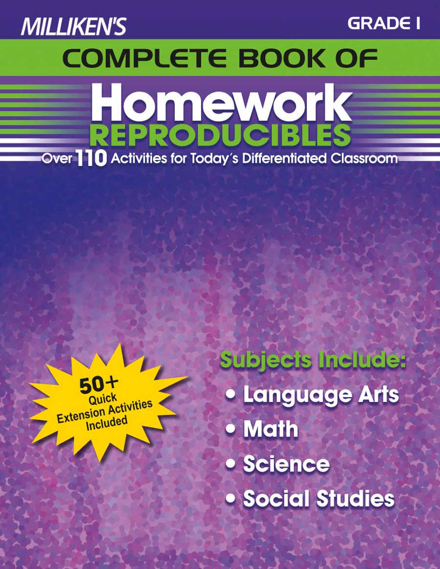 Milliken's Complete Book of Homework Reproducibles - Grade 1