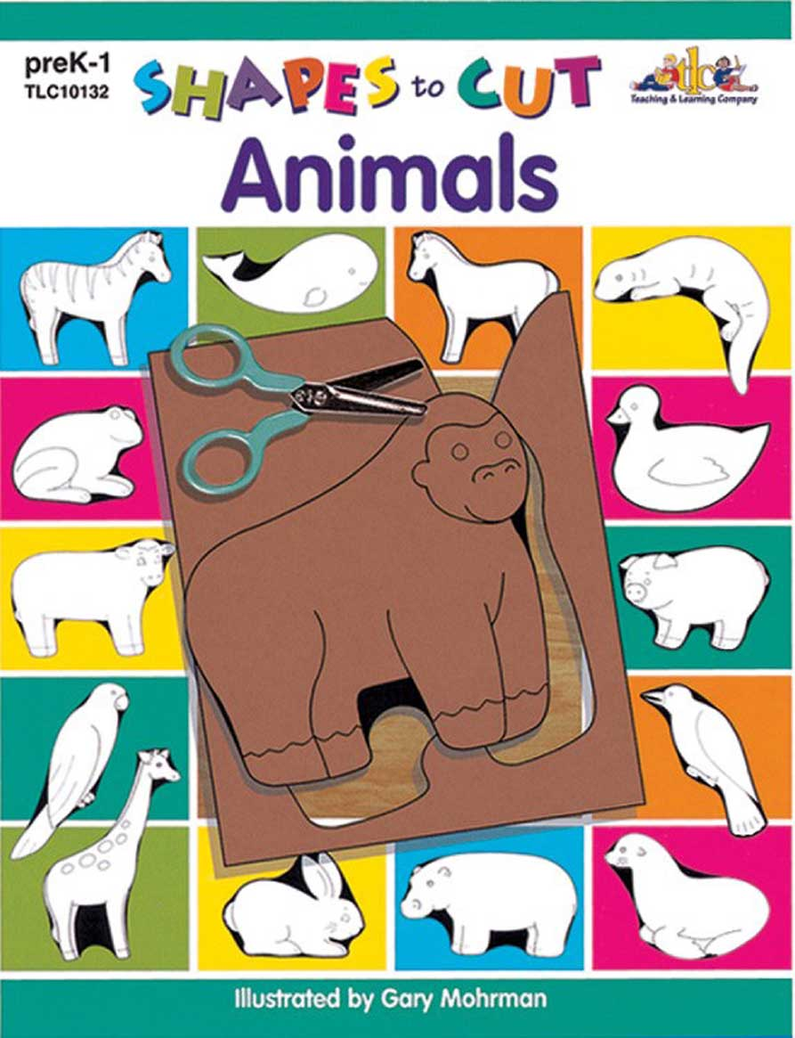 Shapes to Cut: Animals