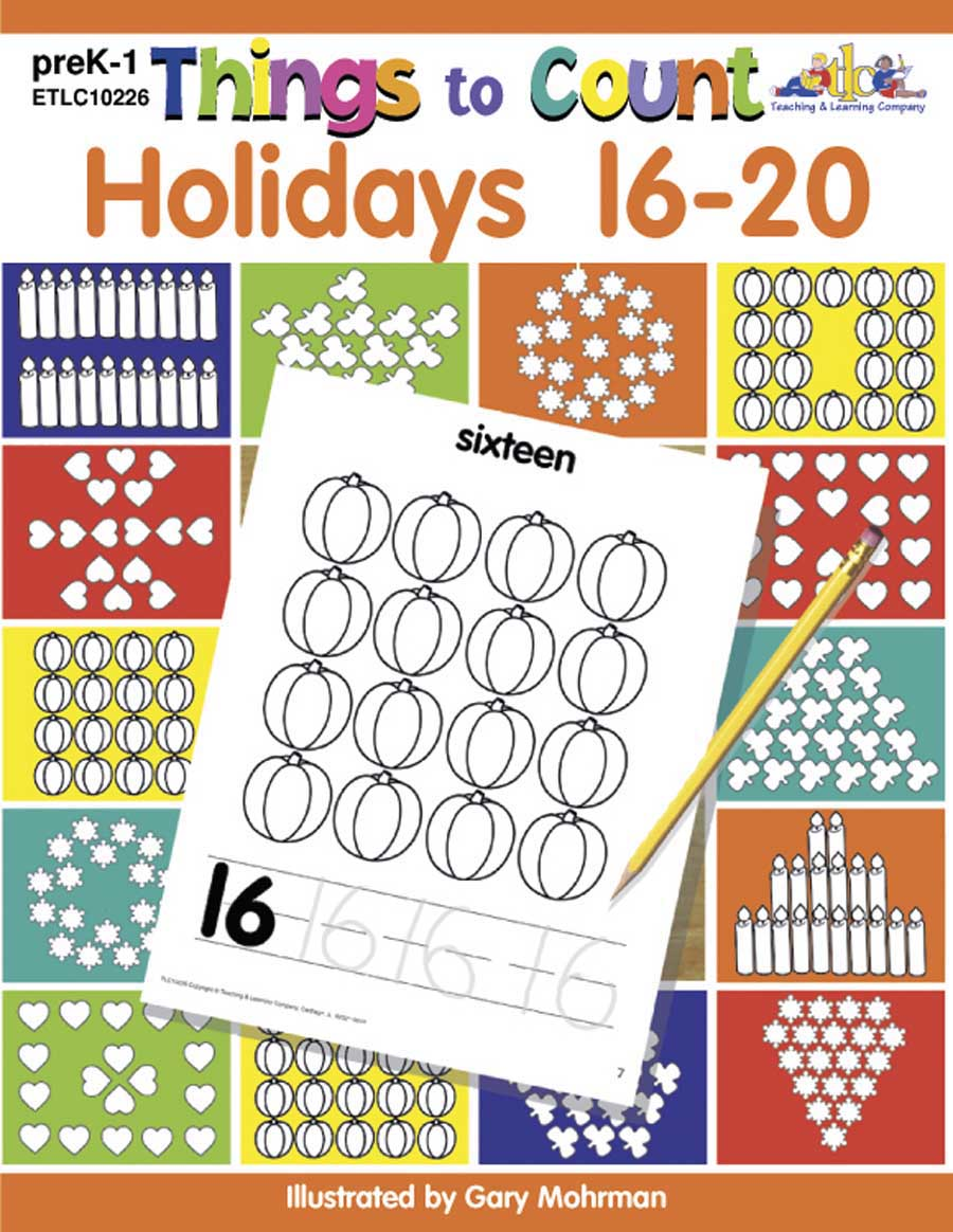 Things to Count: Holidays 16-20