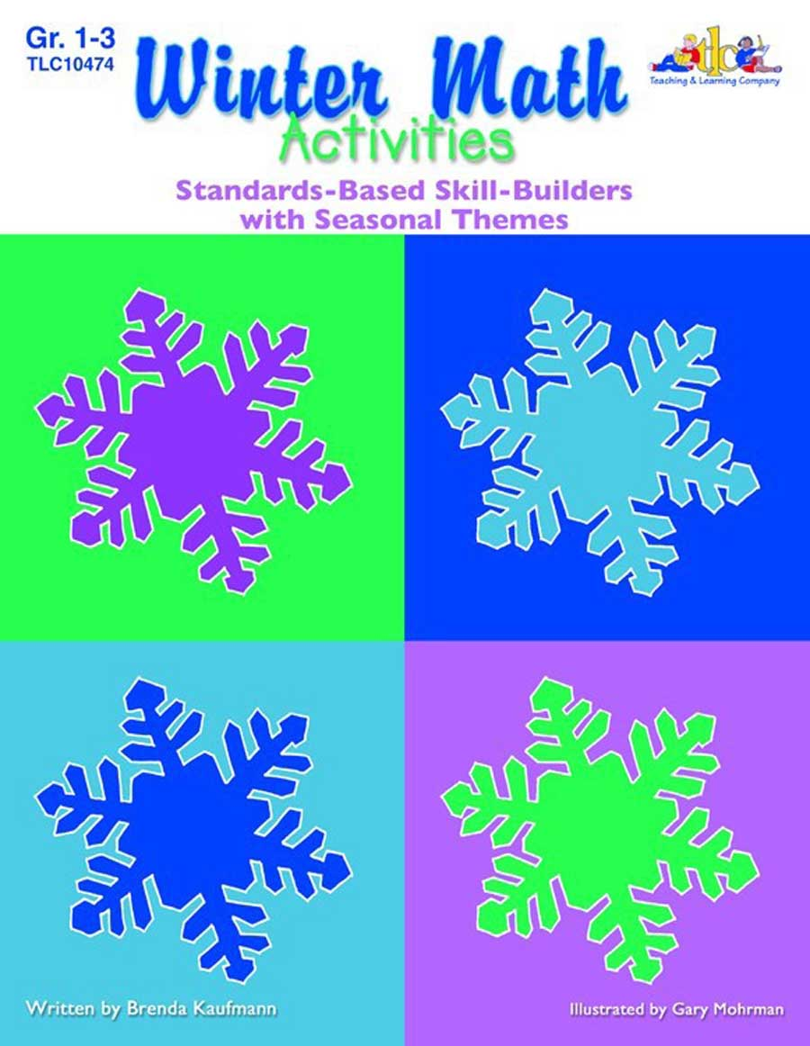 Seasonal Math Activities - Winter