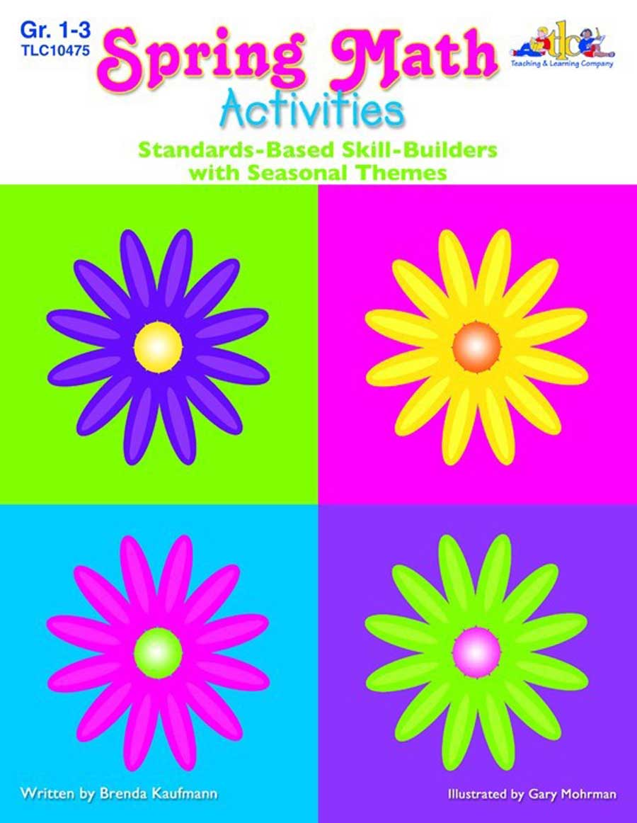 Seasonal Math Activities - Spring