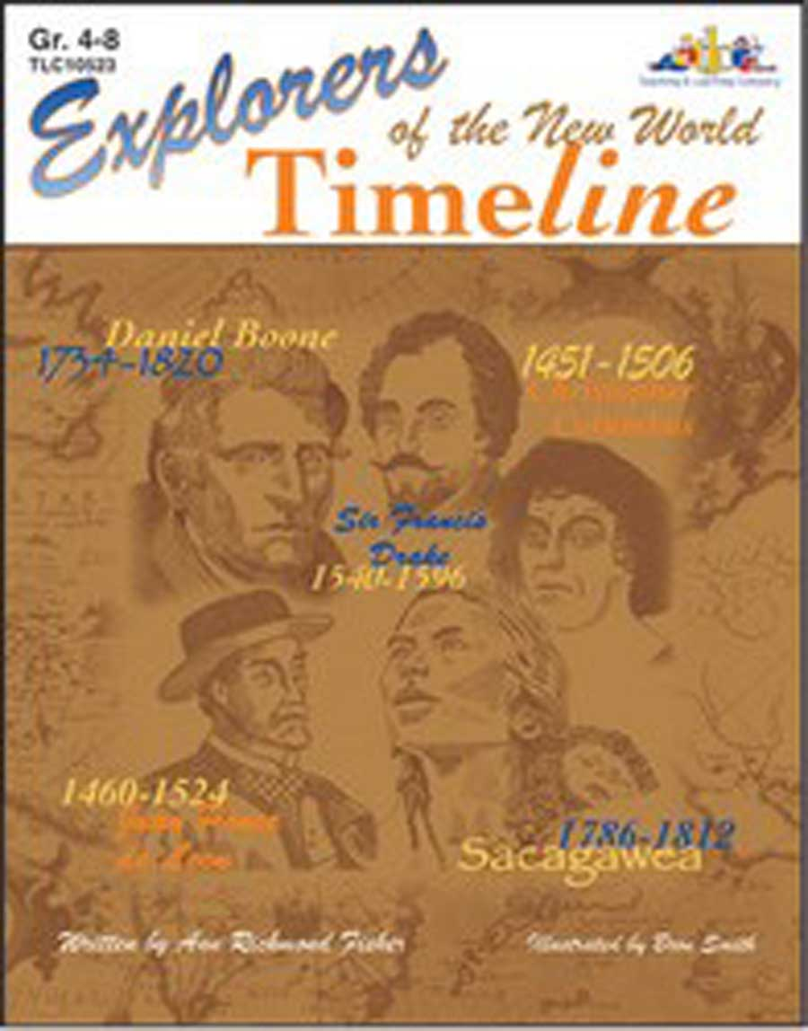 Explorers of the New World Time Line