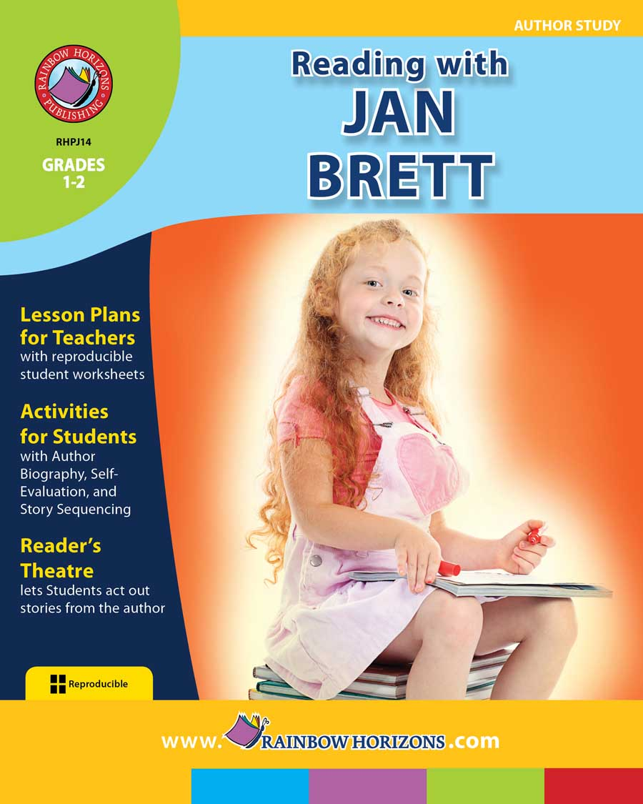 Reading with Jan Brett (Author Study) Gr. 1-2 - print book