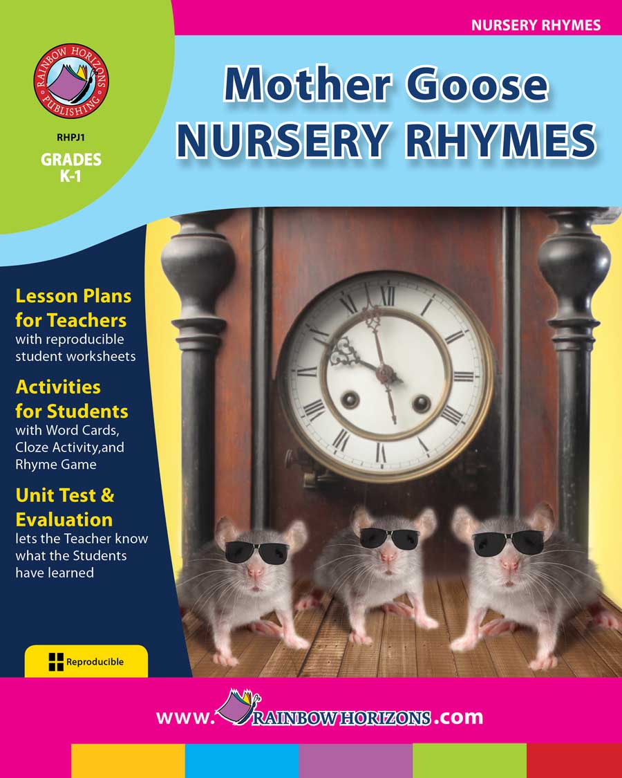 Mother Goose Nursery Rhymes Gr. K-1 - print book