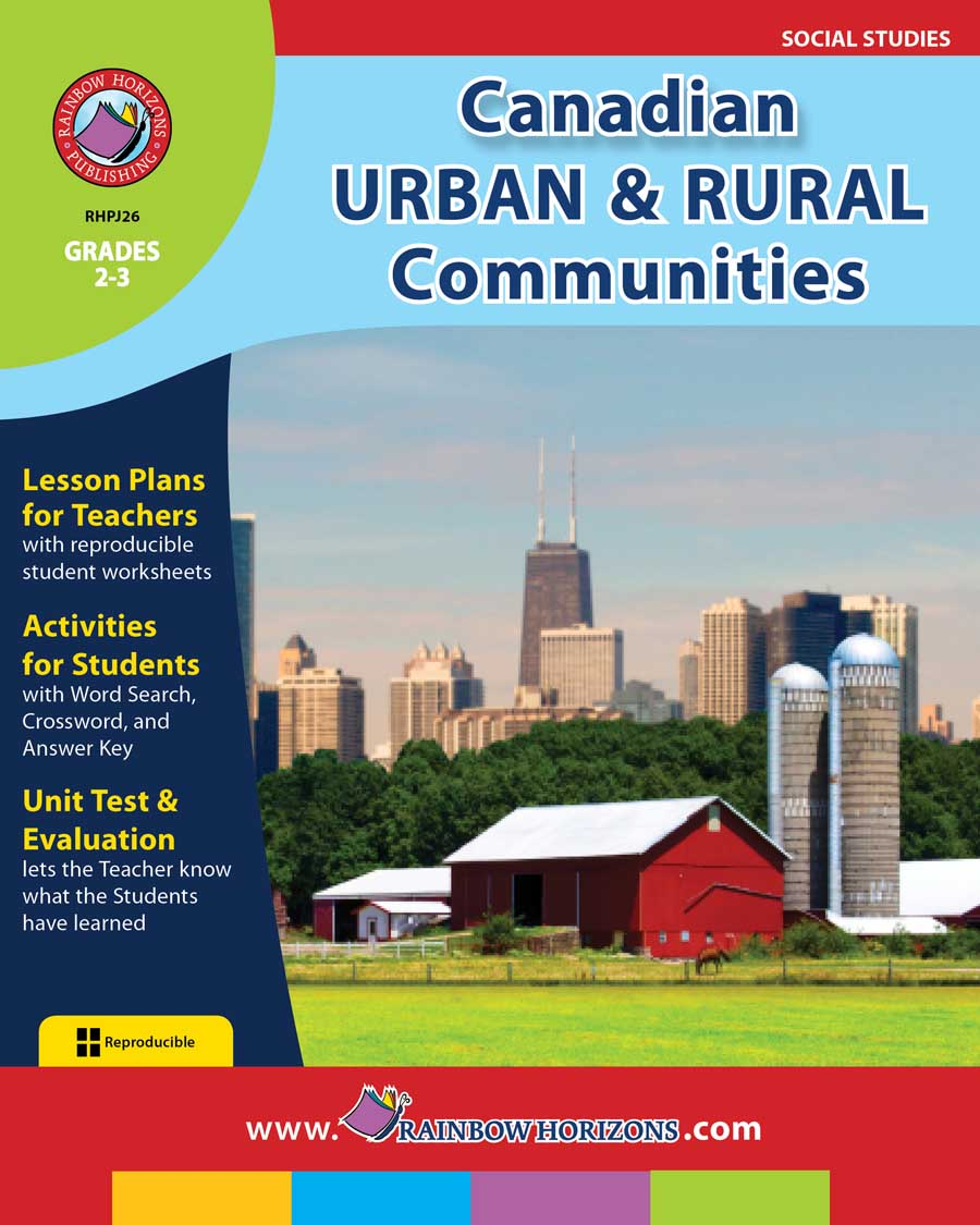 Canadian Urban And Rural Communities Gr. 2-3 - print book