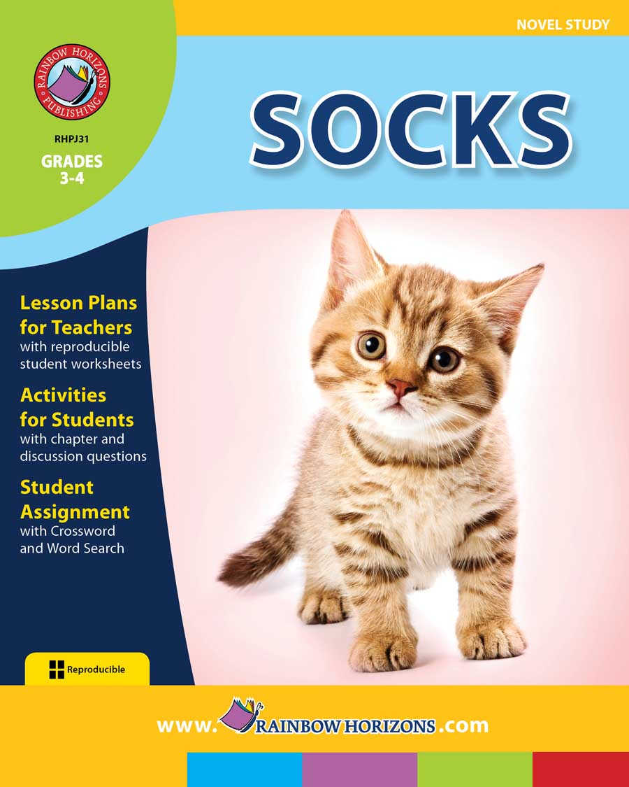 Socks (Novel Study) Gr. 3-4 - print book