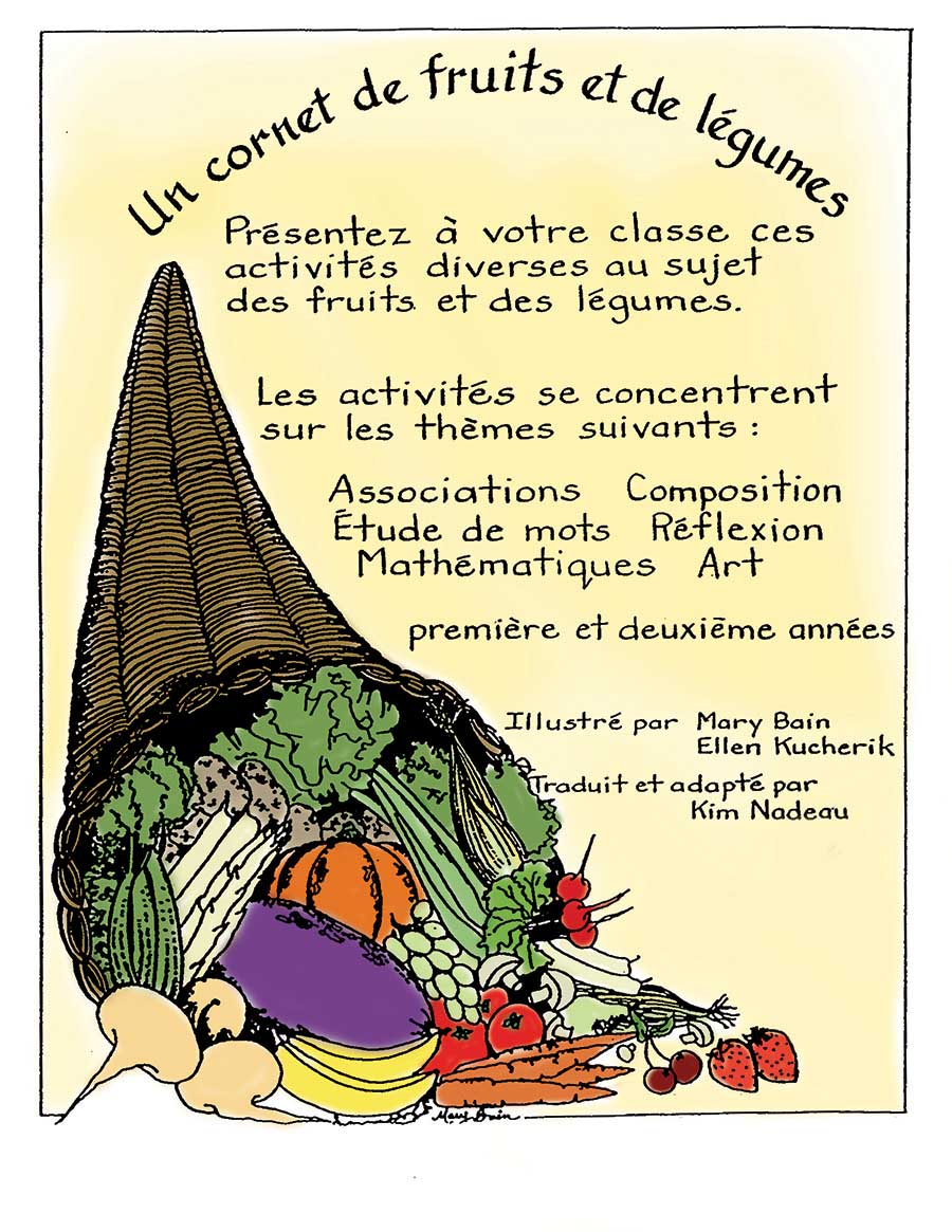 UN CORNET DE FRUITS ET DE LEGUMES Gr. 1-2 - eBook