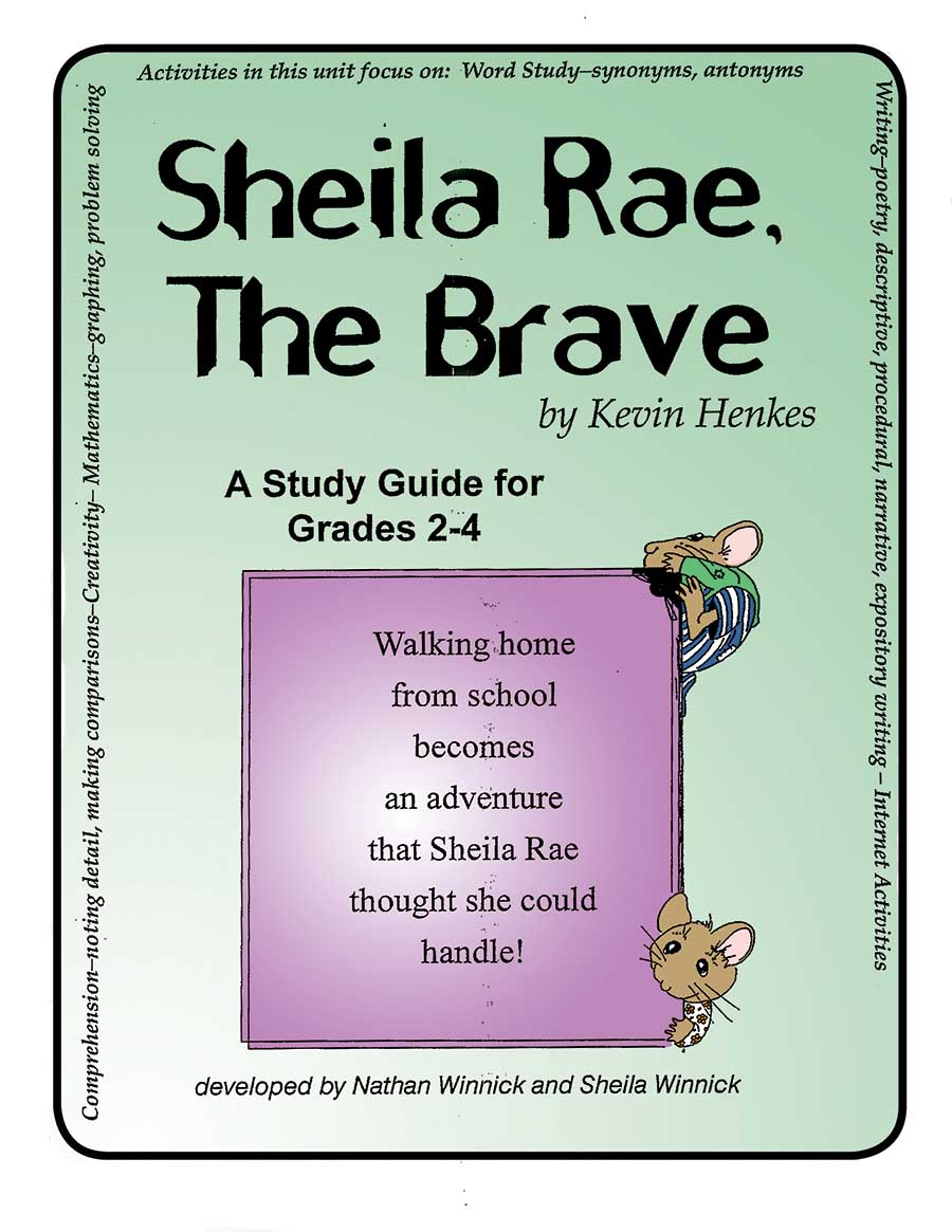 SHEILA RAE, THE BRAVE - STUDY GUIDE Gr. 2-4 - eBook