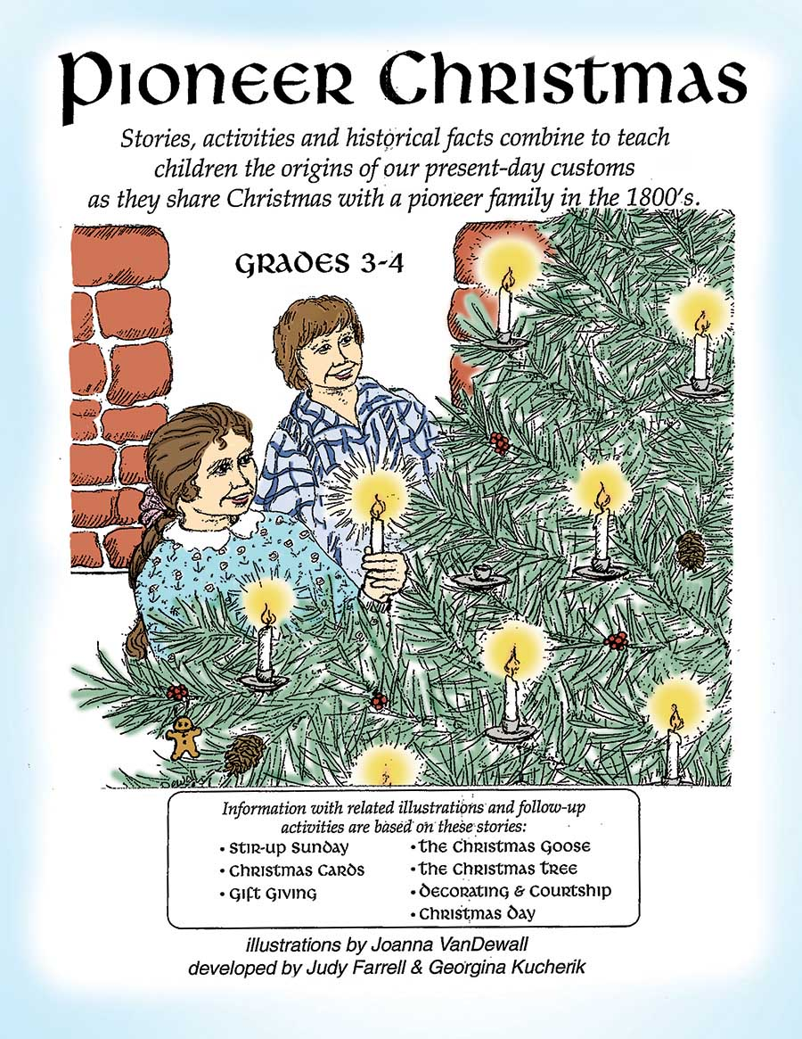 PIONEER CHRISTMAS Gr. 3-4 - eBook