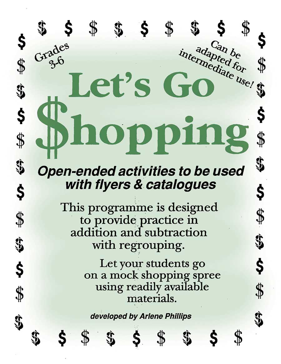 LET'S GO SHOPPING Gr. 3-6 - eBook