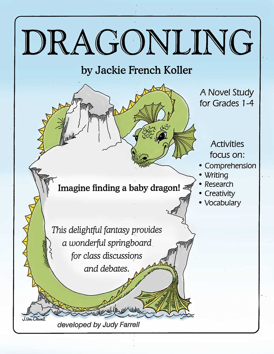DRAGONLING NOVEL STUDY Gr. 1-4 - eBook