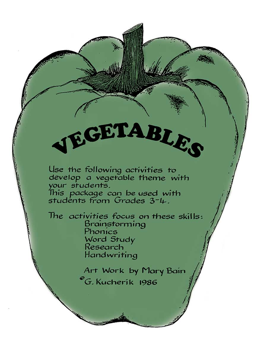VEGETABLES Gr. 3-4 - eBook