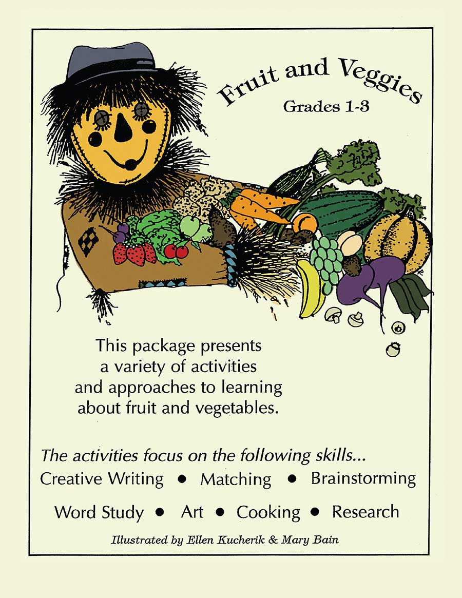 FRUIT AND VEGGIES Gr. 1-3 - eBook
