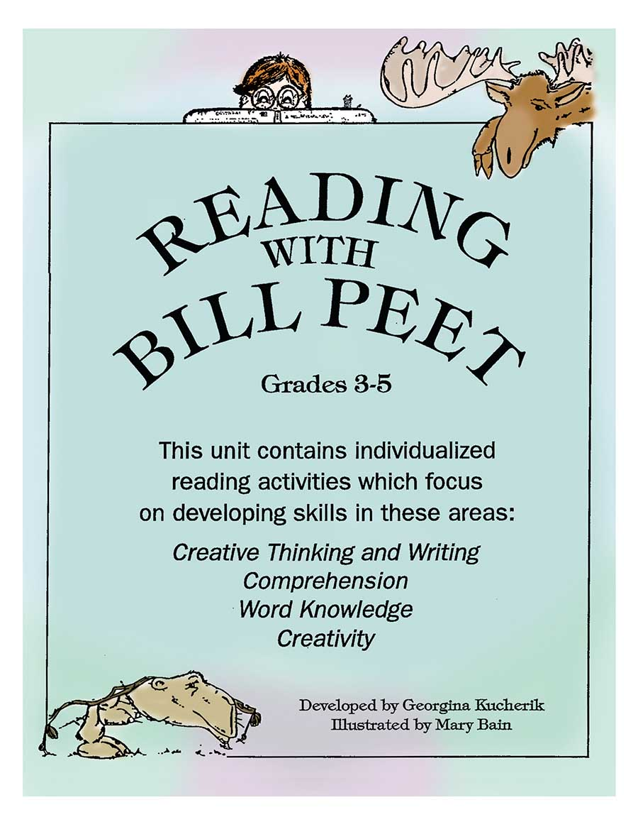 READING WITH BILL PEET (INDIVIDUALIZED ACT. FOR 26 BOOKS) Gr. 3-5 - eBook