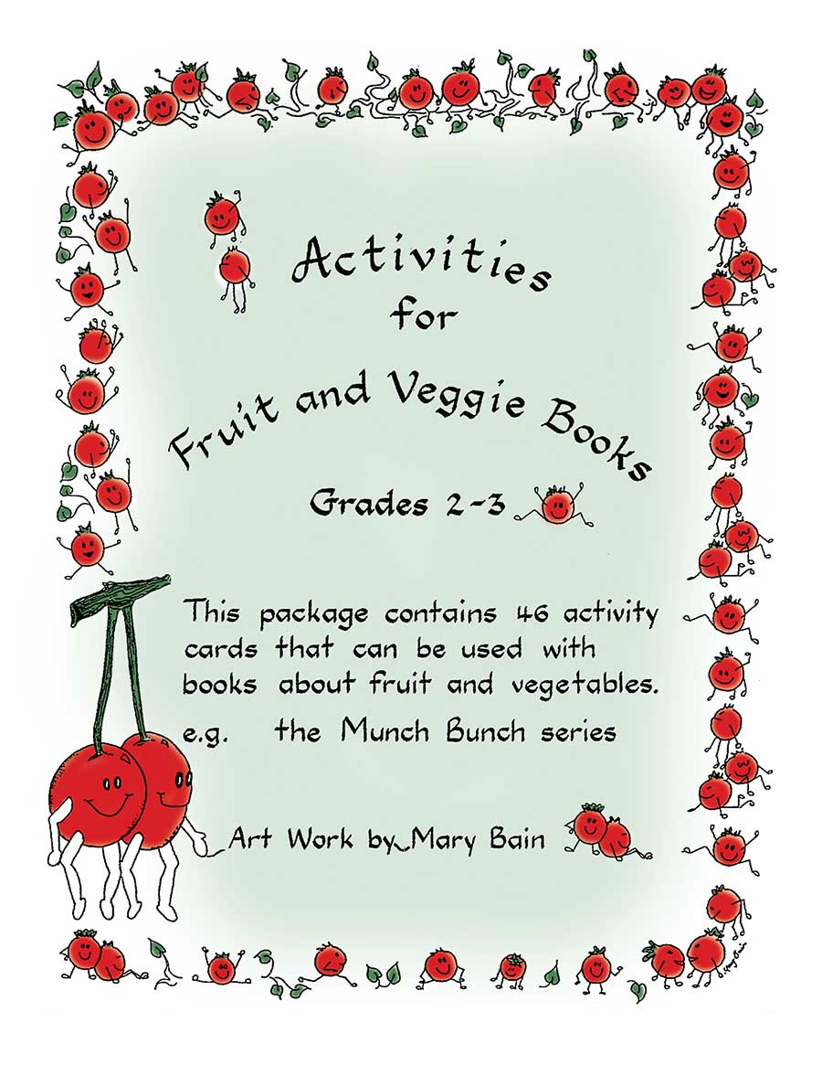 ACTIVITIES FOR FRUIT AND VEGGIE BOOKS Gr. 2-3 - eBook