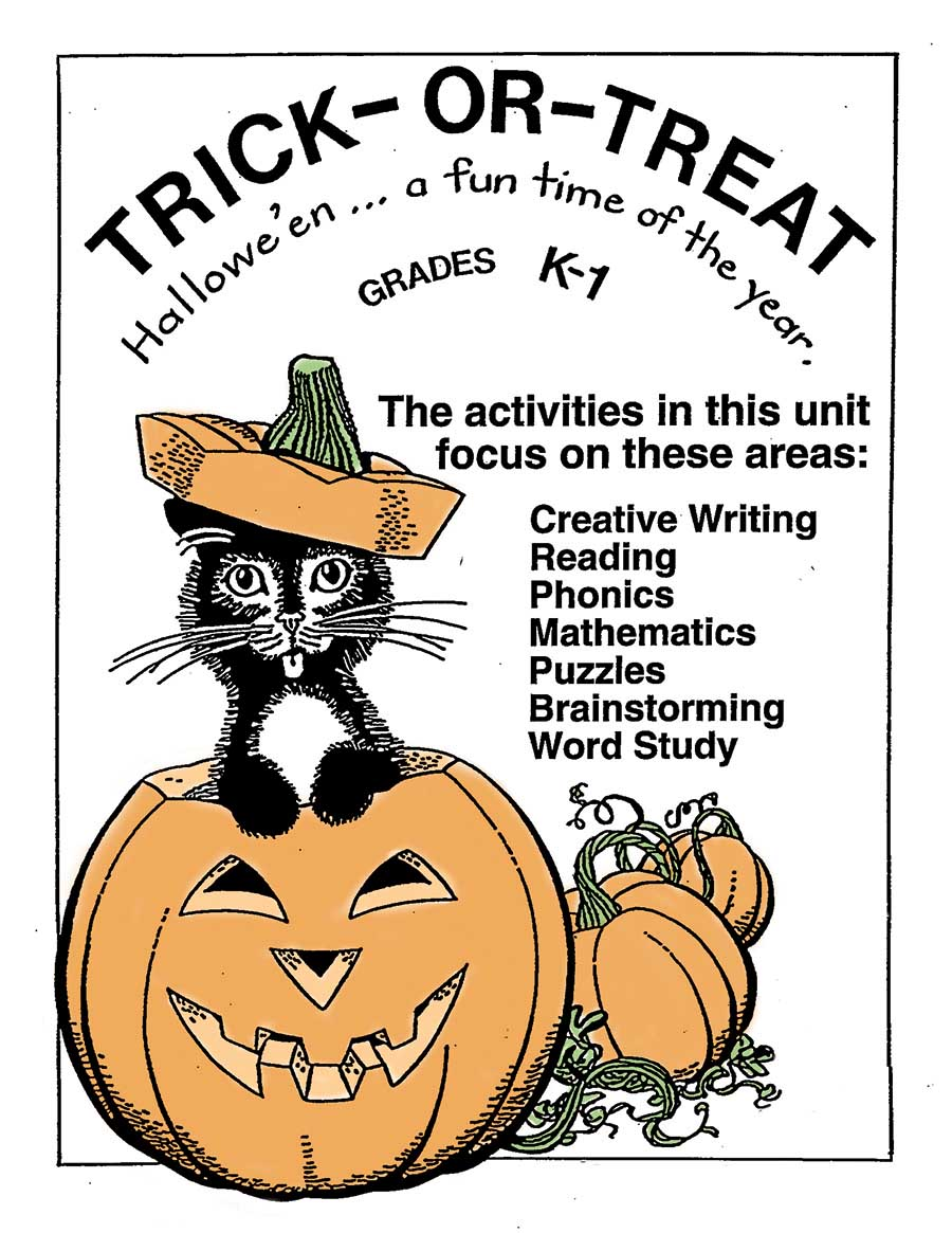 TRICK OR TREAT Gr. K-1 - eBook