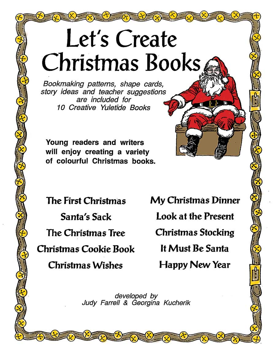 LET'S CREATE CHRISTMAS BOOKS Gr. K-3 - eBook