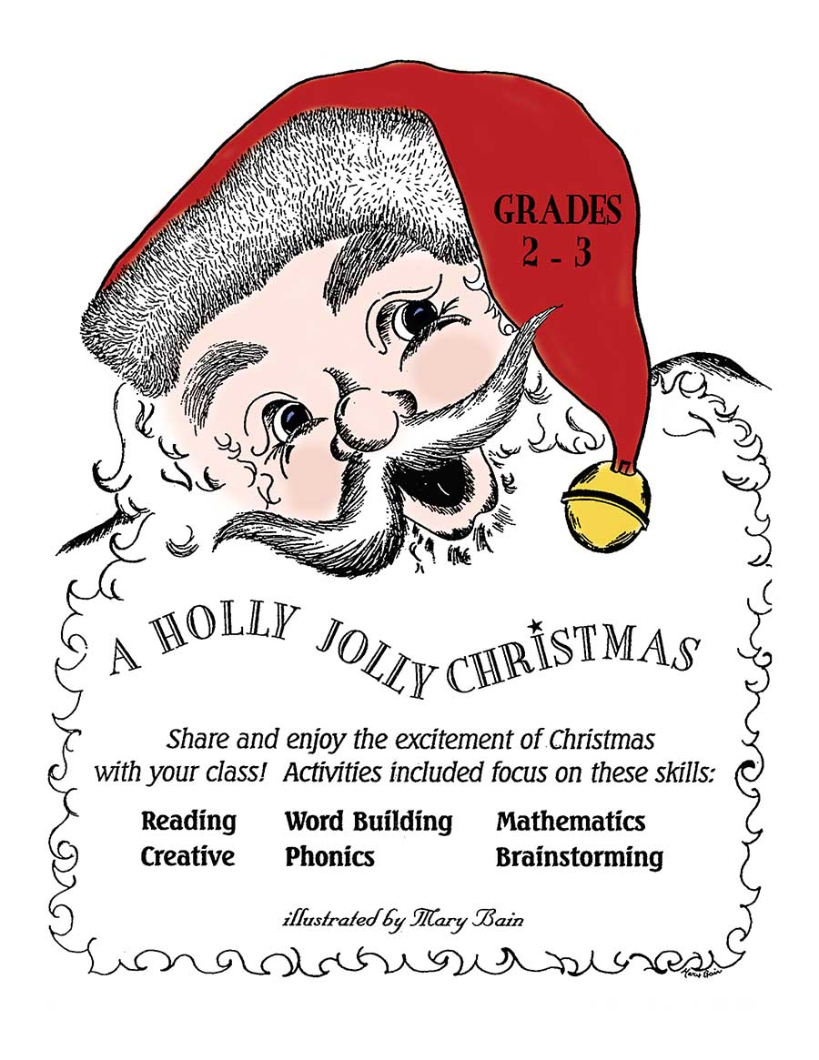 A HOLLY JOLLY CHRISTMAS Gr. 2-3 - eBook