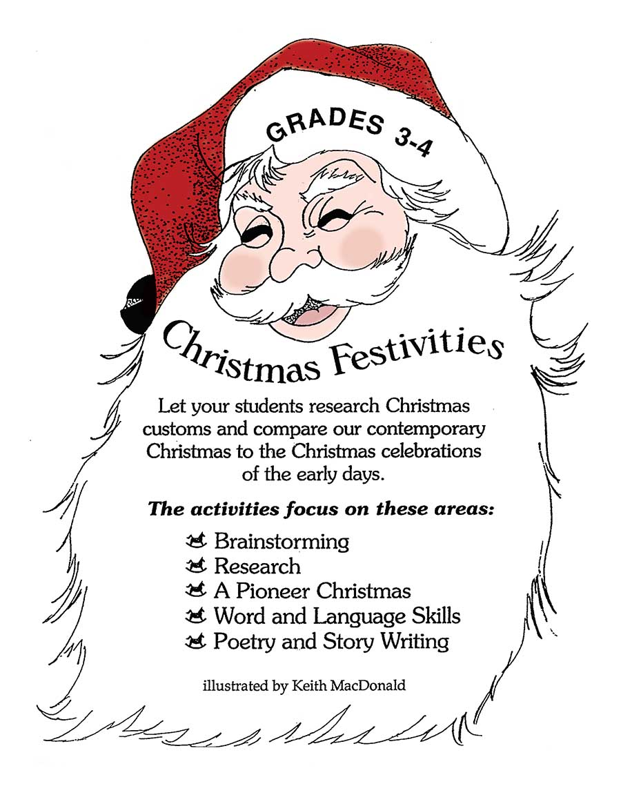 CHRISTMAS FESTIVITIES  Gr. 3-4 - eBook
