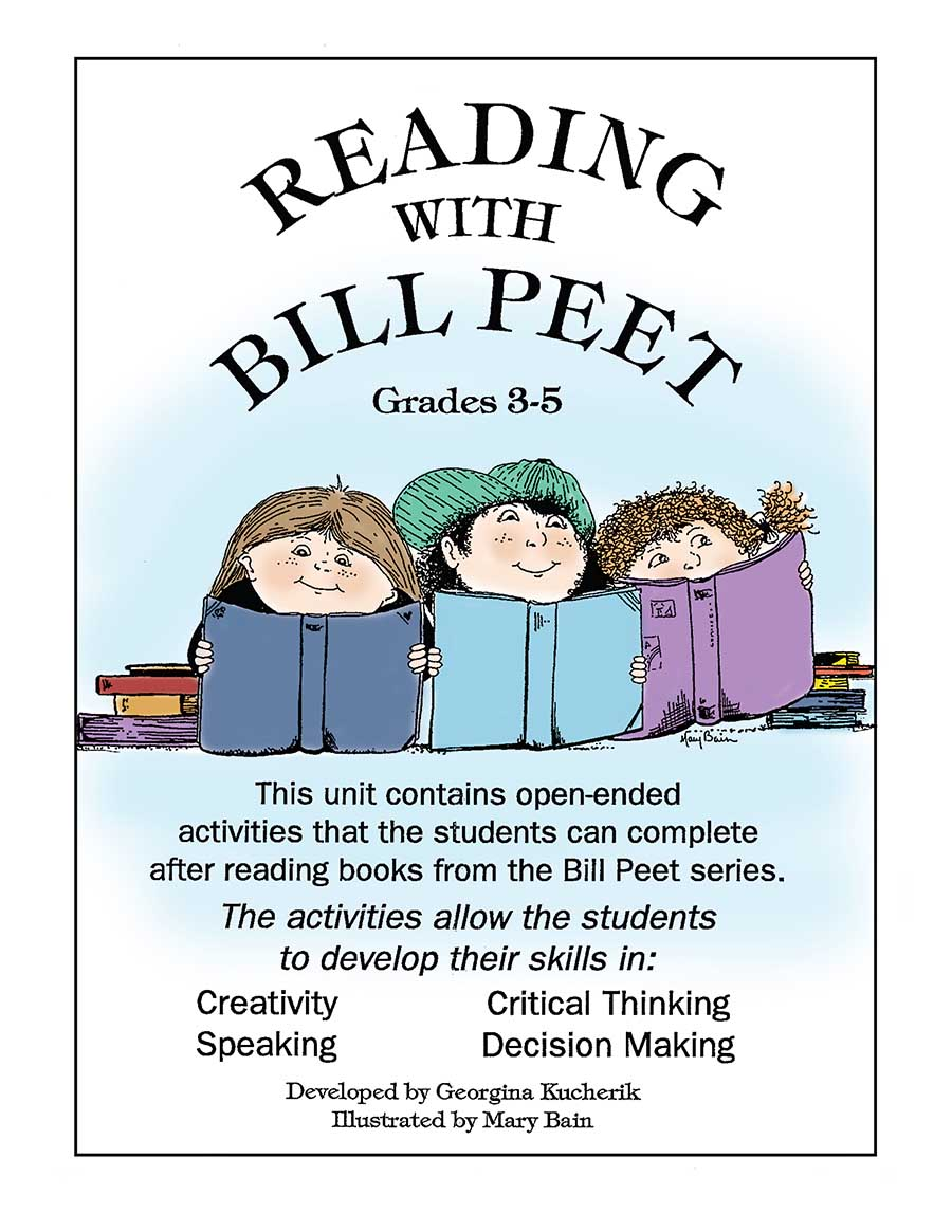 READING WITH BILL PEET (OPEN-ENDED CREATIVE ACT.) Gr. 3-5 - eBook