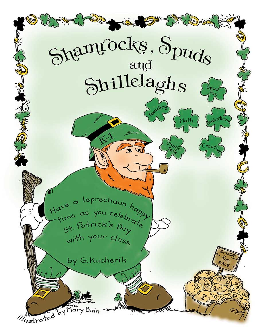 SHAMROCKS, SPUDS AND SHILLELAGHS Gr. K-1 - eBook