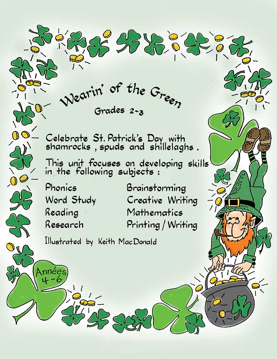 WEARIN' OF THE GREEN Gr. 2-3 - eBook