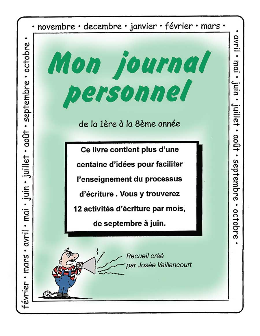 MON JOURNAL PERSONNEL Gr. 1-8 - eBook