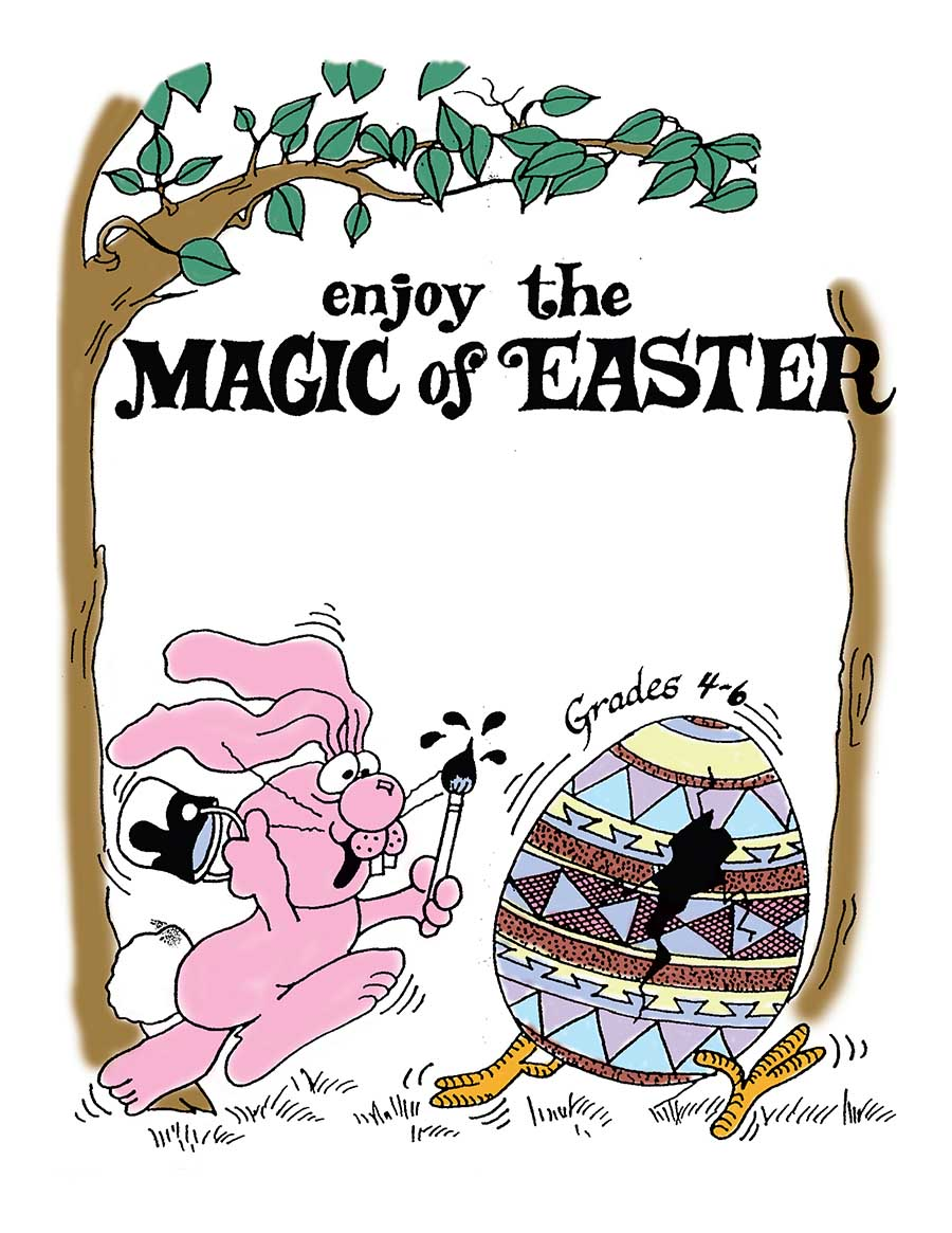 ENJOY THE MAGIC OF EASTER Gr. 4-6 - eBook