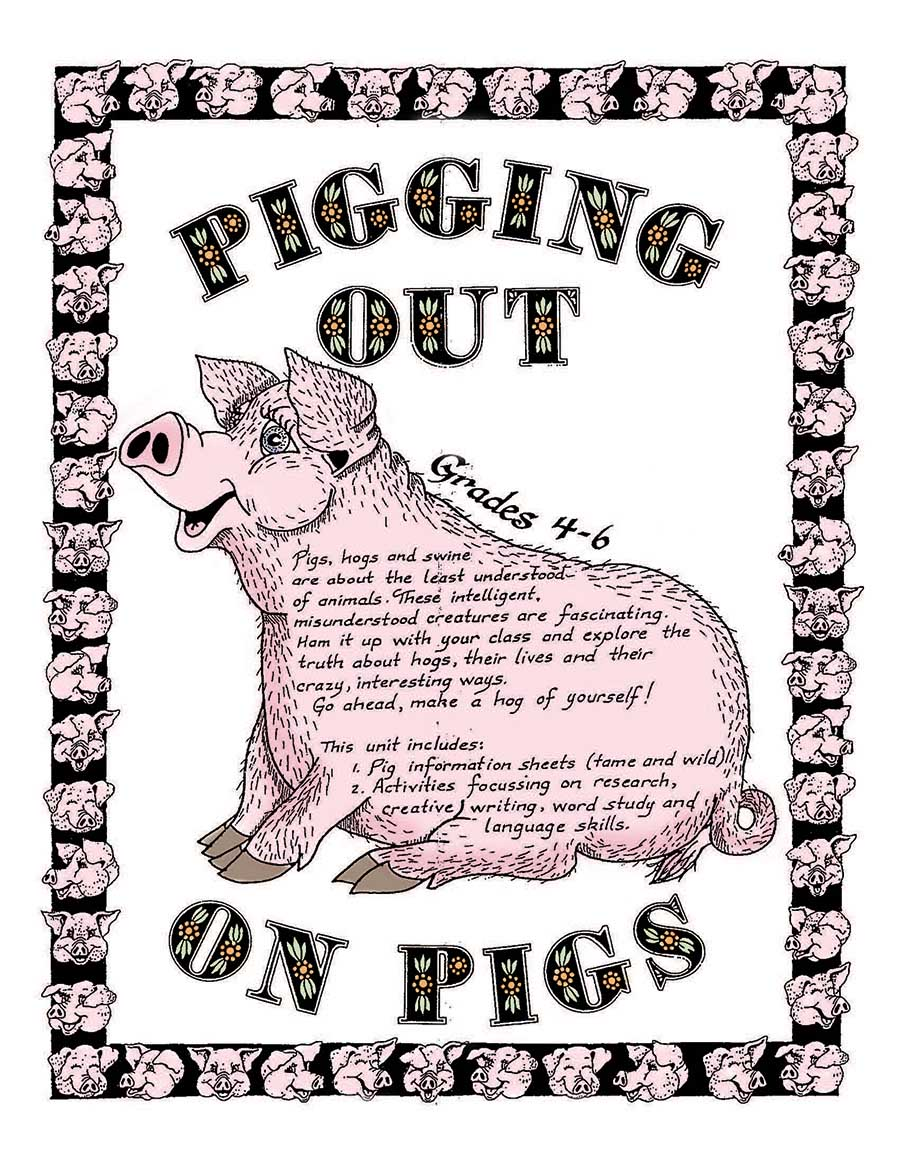 PIGGING OUT ON PIGS! Gr. 4-6 - eBook
