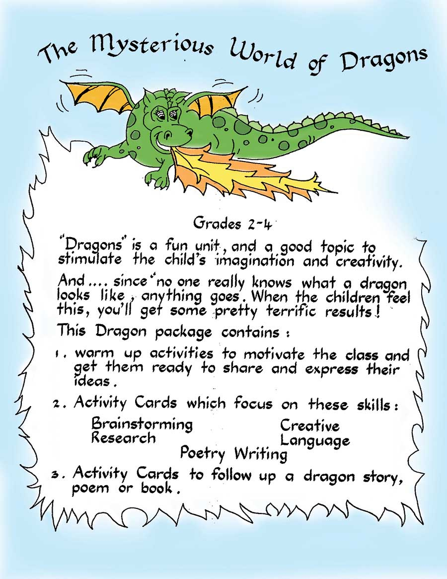 THE MYSTERIOUS WORLD OF DRAGONS Gr. 2-4 - eBook