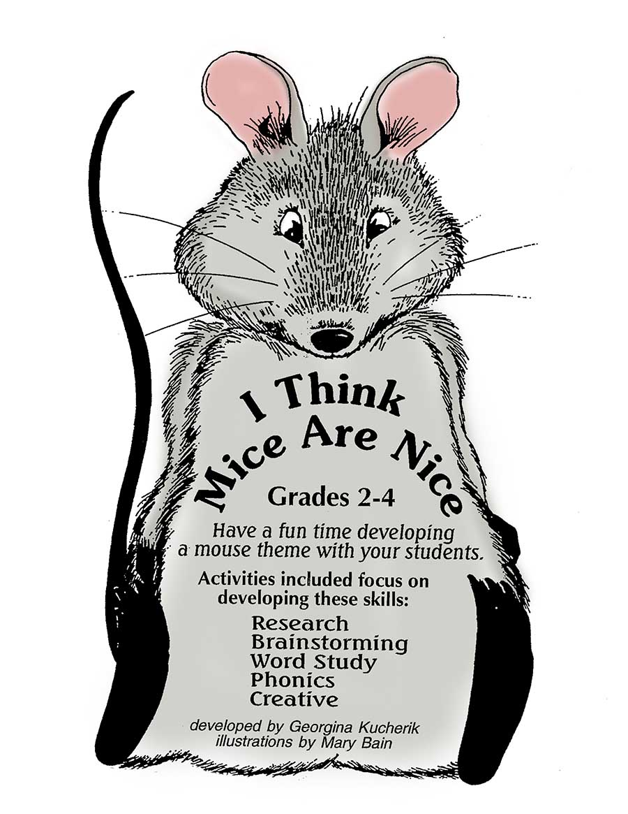 I THINK MICE ARE NICE Gr. 2-4 - eBook