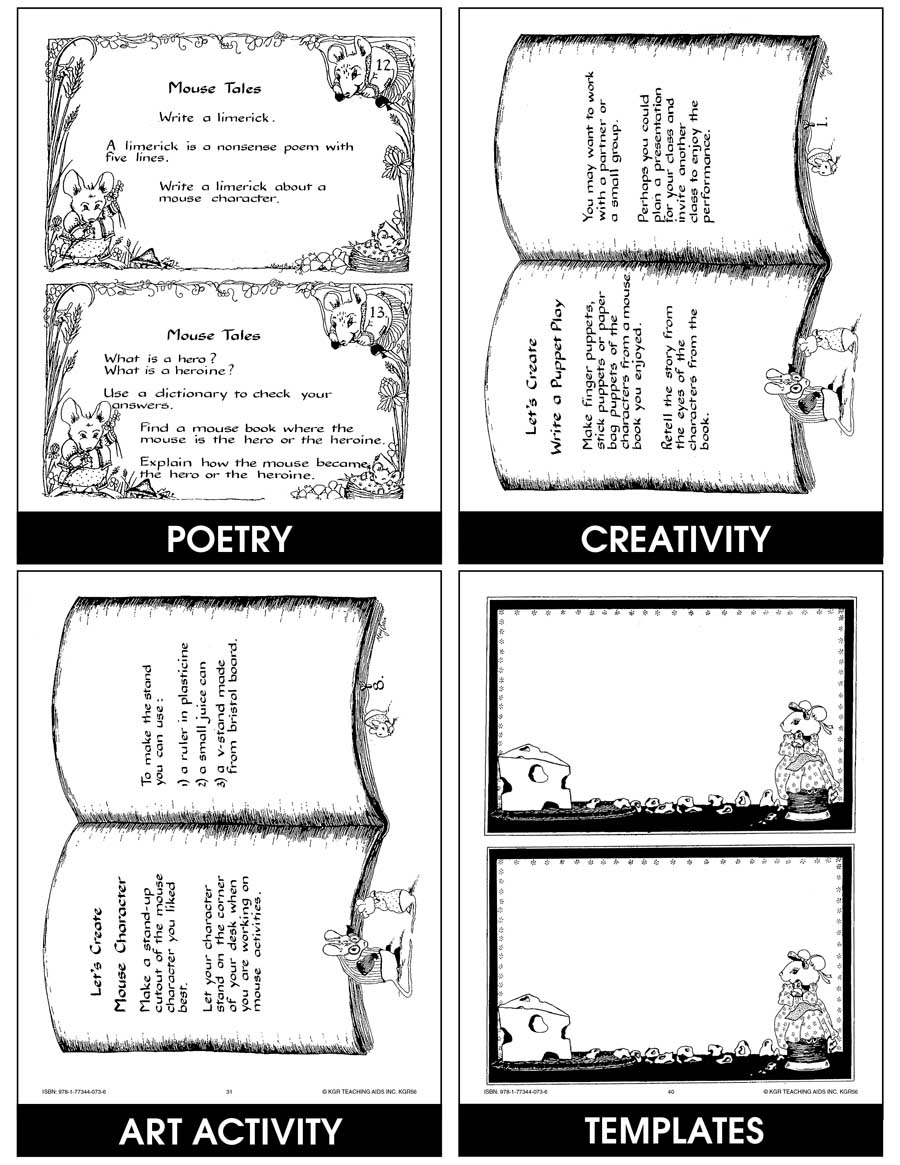 MOUSE TALES (ACT. FOR MOUSE NOVELS & STORIES) Gr. 3-5 - eBook
