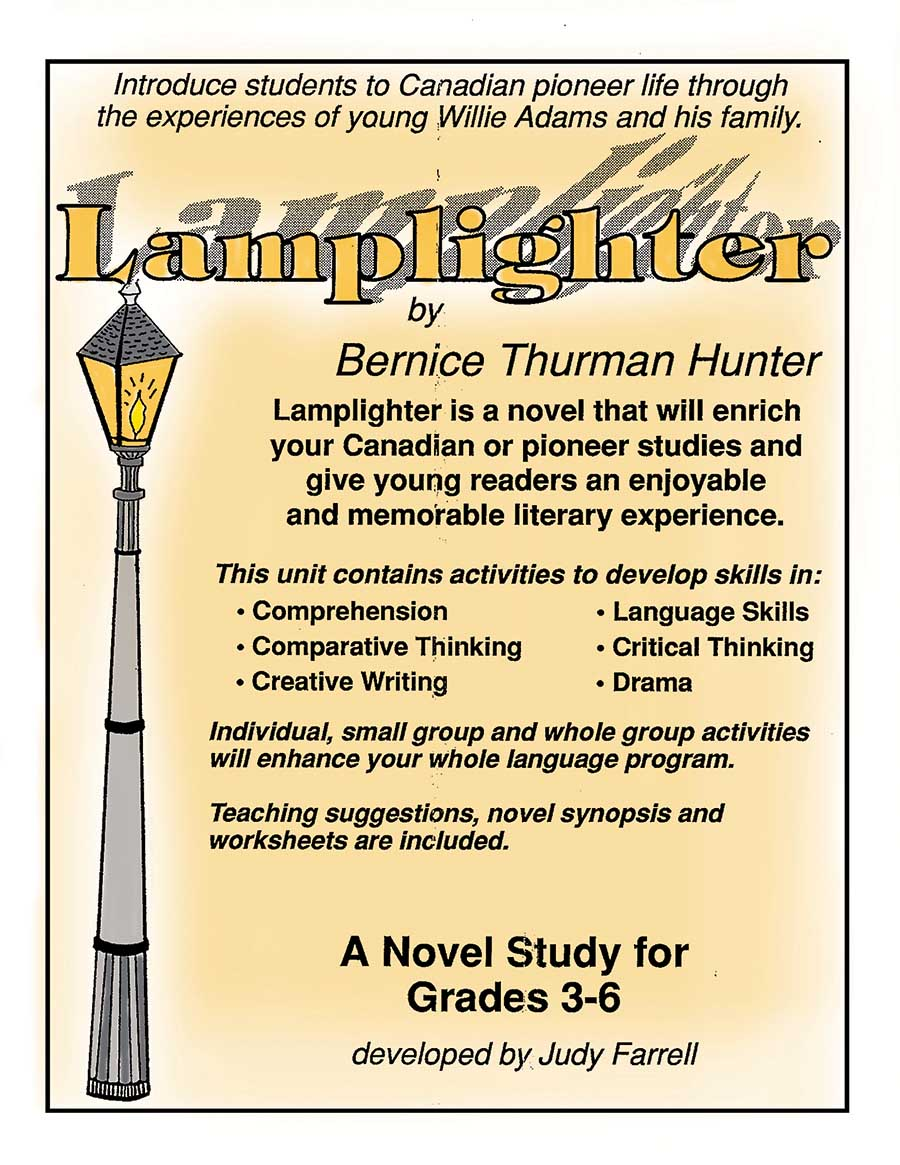 LAMPLIGHTER NOVEL STUDY Gr. 3-6 - eBook