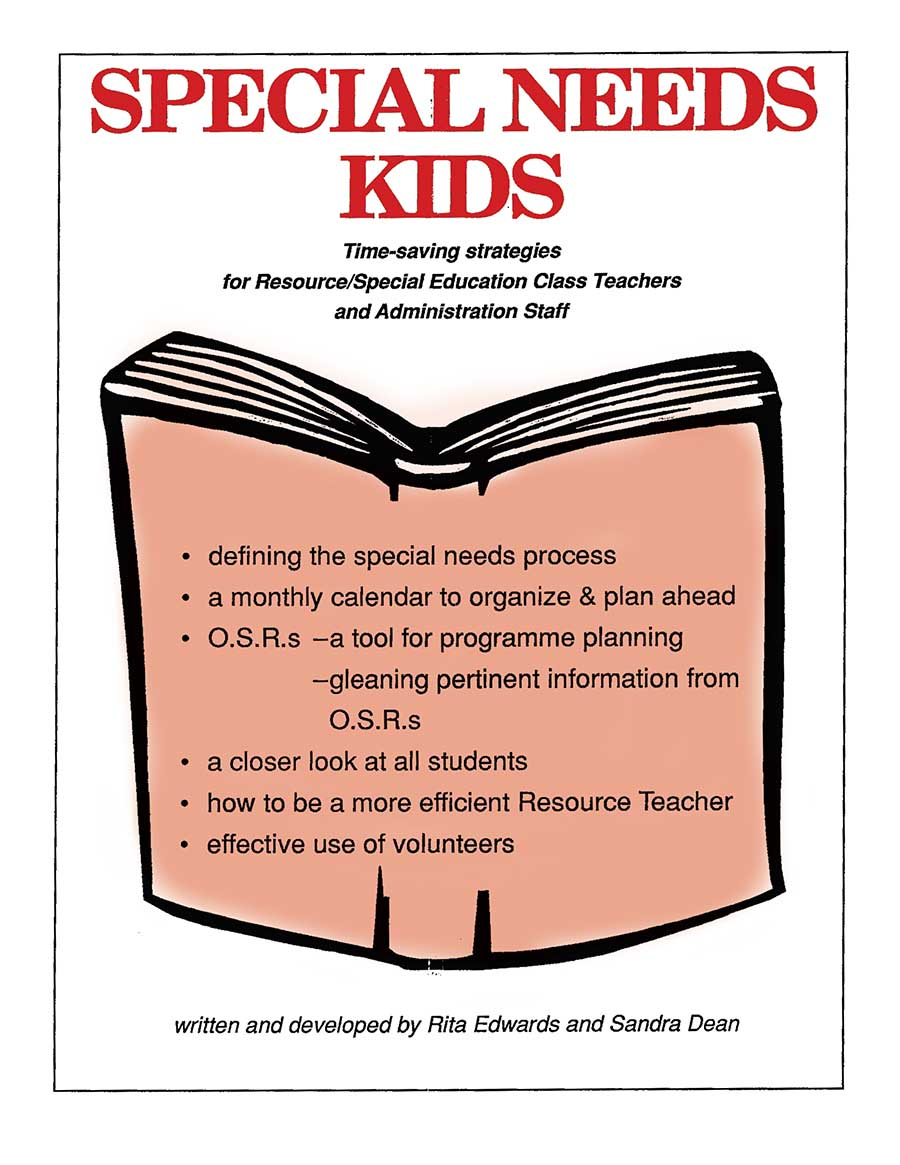 SPECIAL NEEDS KIDS (HANDBOOK & ORGANIZER) Gr. K-8 - eBook