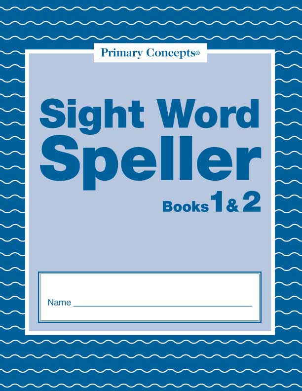 Sight Word Spellers Books 1-2